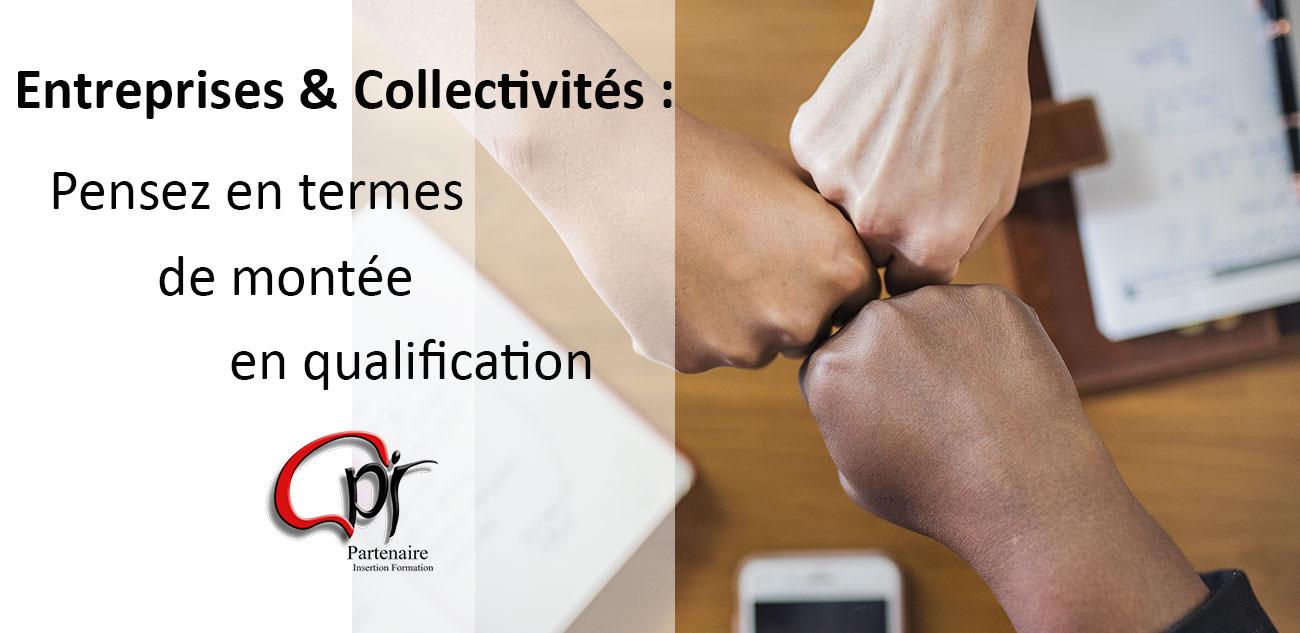 Entreprise et collectivités : Montée en qualification avec PIF